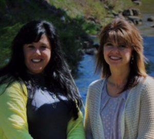 Sondra and Denise